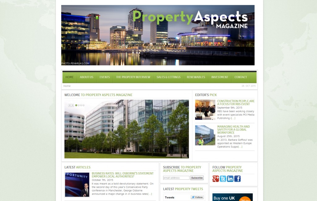 Property Aspects provides channel for attracting business