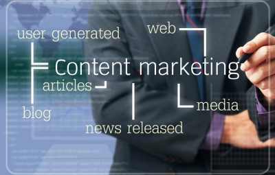 content marketing can put you in front of your chosen audience