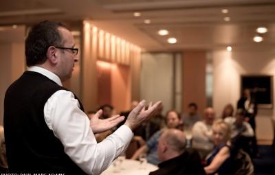 David Lomas public speaking