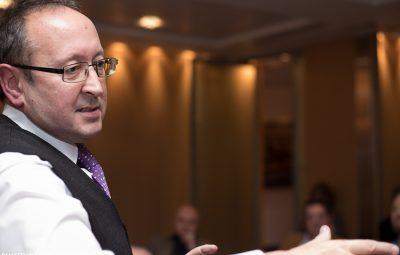 Marketing Challenge workshop host, David Lomas